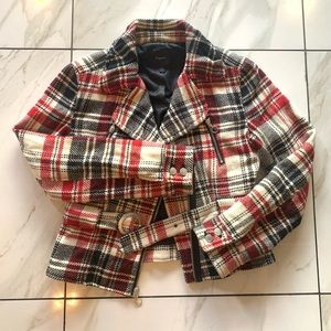 Express plaid jacket